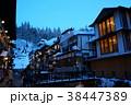 冬の銀山温泉 38447389