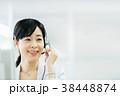 ビジネス オペレーター コールセンターの写真 38448874