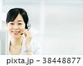人物 ビジネス オペレーターの写真 38448877