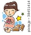 イラスト デザイン 女性のイラスト 38451414