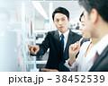 ビジネス ビジネスマン 男女の写真 38452539