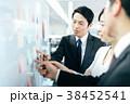 ビジネス ビジネスマン 男女の写真 38452541
