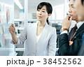 オフィス 打ち合わせ ビジネスウーマンの写真 38452562
