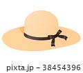麦わら帽子 38454396