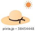 麦わら帽子 38454448