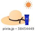 麦わら帽子 38454449
