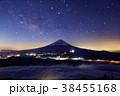 御坂山地・雪頭ヶ岳から見る富士山と雲海・星空 38455168