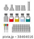 研究室のガラス製品 38464016