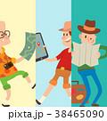 人々 人物 マップのイラスト 38465090