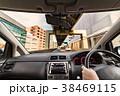 ドライブ ハンドル 車窓の写真 38469115