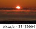 厳冬の夜明け 38469904