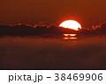 厳冬の夜明け 38469906