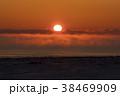 厳冬の夜明け 38469909
