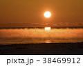 厳冬の夜明け 38469912