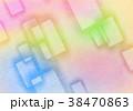 背景 テクスチャ 四角のイラスト 38470863