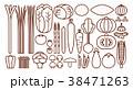 野菜イラスト_バリエーションC 38471263