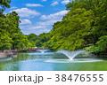 東京 井の頭公園の風景 38476555