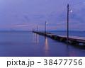 原岡桟橋 桟橋 海の写真 38477756