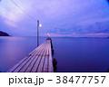 原岡桟橋 桟橋 海の写真 38477757