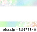 和紙 桜 春のイラスト 38478340