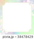和紙 桜 春のイラスト 38478429
