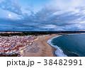 ナザレ ビーチ 風景の写真 38482991