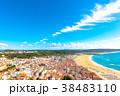 ナザレ 風景 ビーチの写真 38483110