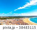 ナザレ 風景 ビーチの写真 38483115