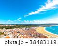ナザレ 風景 ビーチの写真 38483119