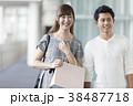 カップル デート 男子学生の写真 38487718