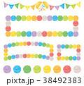 パーティー イベント 花飾り 38492383