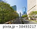 道路 ビル 高層ビルの写真 38493217