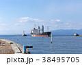 貨物船 三池港 港の写真 38495705