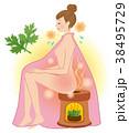 よもぎ蒸し 美容 デトックスのイラスト 38495729