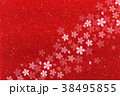 桜 和柄 背景のイラスト 38495855