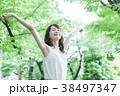 女性 若い女性 ライフスタイルの写真 38497347