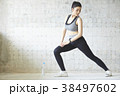 女性 スポーツ エクササイズ 38497602
