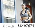 女性 スポーツ ランニングの写真 38497674