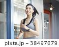 女性 スポーツ ランニングの写真 38497679