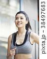 女性 スポーツ ランニングの写真 38497683