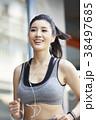 女性 スポーツ ランニングの写真 38497685