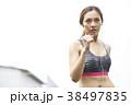 女性 スポーツ ランニングの写真 38497835