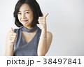 女性 モデルポーズ 38497841
