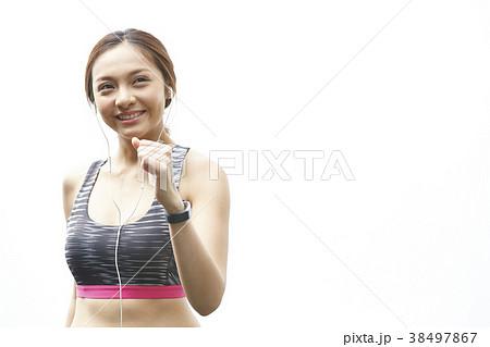女性 スポーツ ランニング 38497867