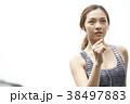 女性 スポーツ ランニングの写真 38497883
