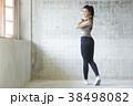 女性 若い女性 運動の写真 38498082