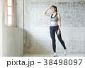 女性 若い女性 運動の写真 38498097