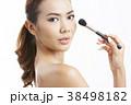 アジア人女性のビューティーシリーズ メイク 38498182