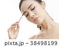 アジア人女性のビューティーシリーズ メイク 38498199