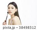 アジア人女性のビューティーシリーズ メイク 38498312
